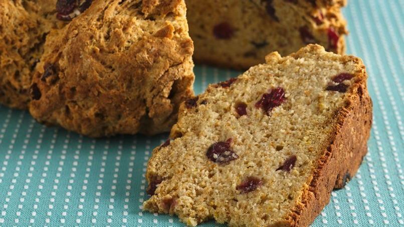 Cranberry-Maple Soda Bread