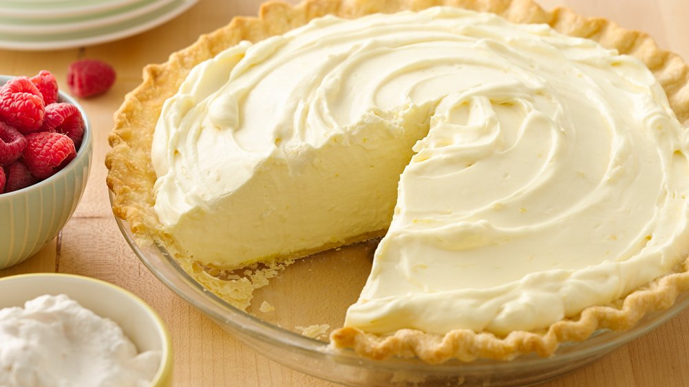 Luscious Lemon Cream Pie recipe from Pillsbury.com