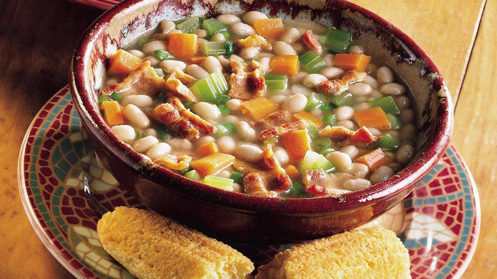 Bean and Bacon Soup recipe from Pillsbury.com