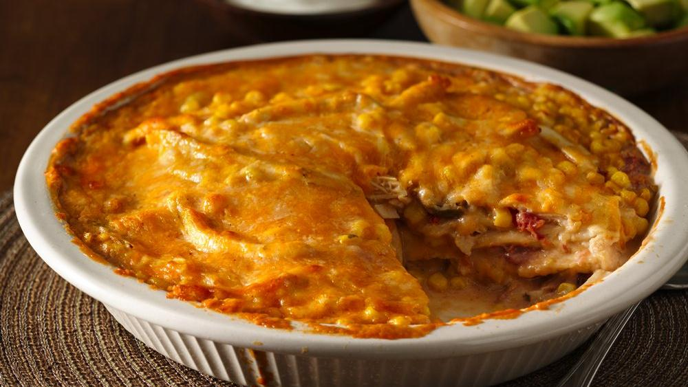 Southwest Tortilla Bake