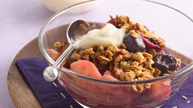 Apple-Cherry Crisp
