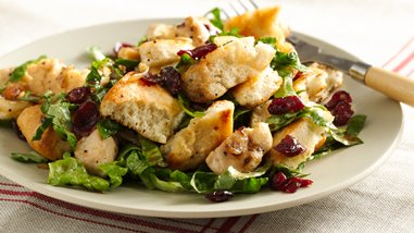 Balsamic Chicken Cranberry Panzanella