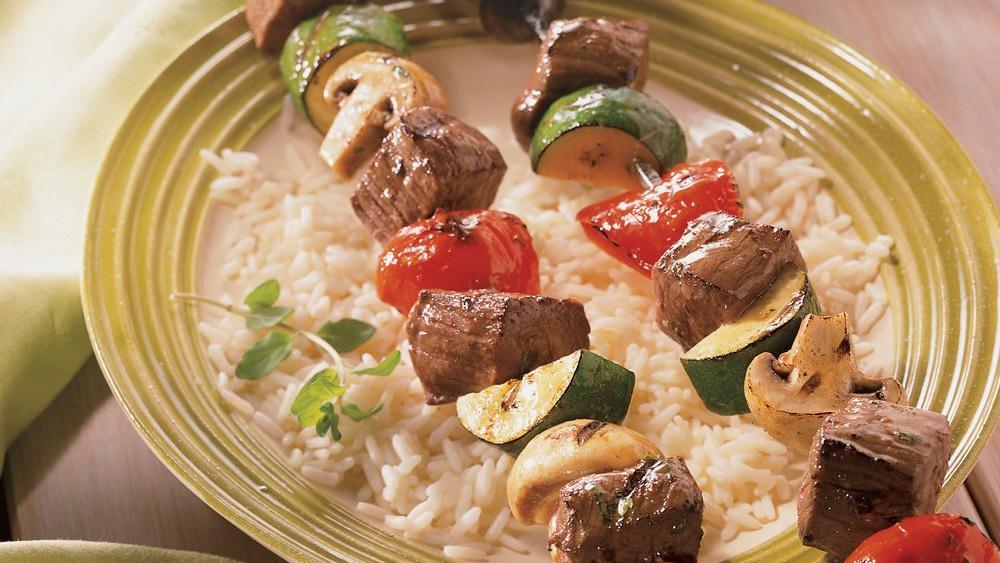 Balsamic Beef Kabobs