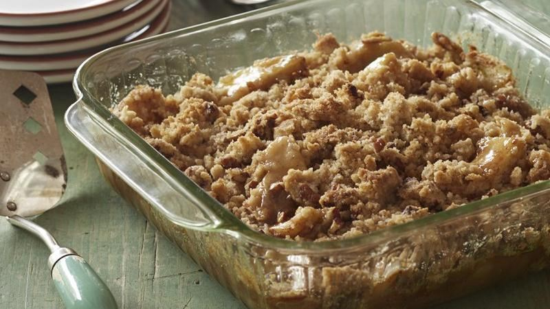 Gluten-Free Caramel Apple Crumble