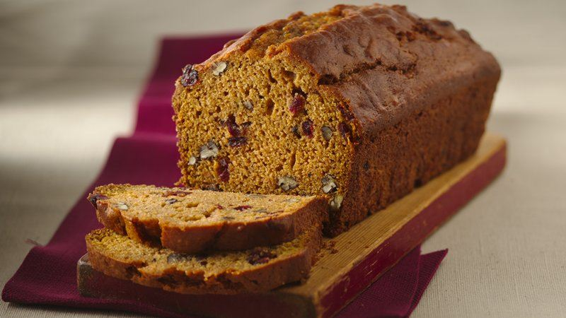 Cranberry-Sweet Potato Bread