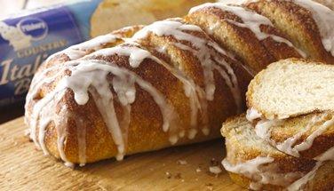 Cinnamon Sugar Italian Bread