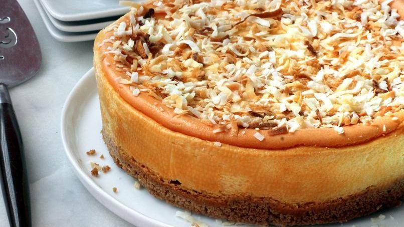 Name Puertorriqueno: Puerto Rican Coquito Cheesecake
