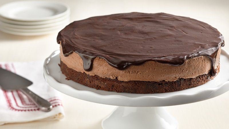 Chocolate Mousse Torte recipe from Betty Crocker