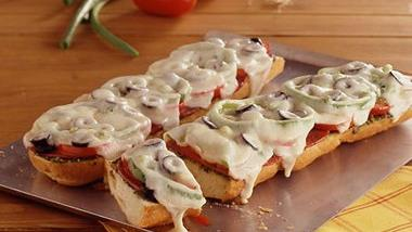 Antipasto French Bread Pizzas