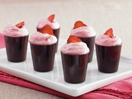 Strawberry Mousse Dessert Cups