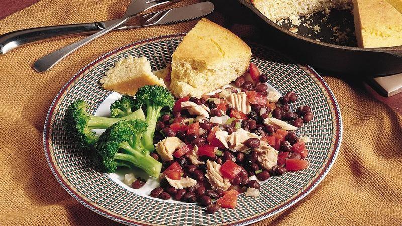 Southwest Tuna and Black Beans