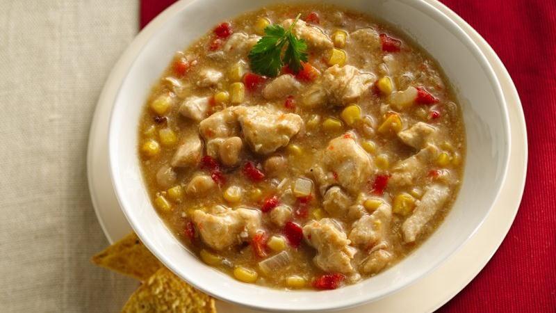 Slow-Cooker White Chicken Chili