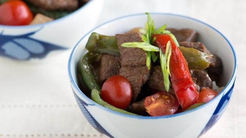 Asian Pepper Steak
