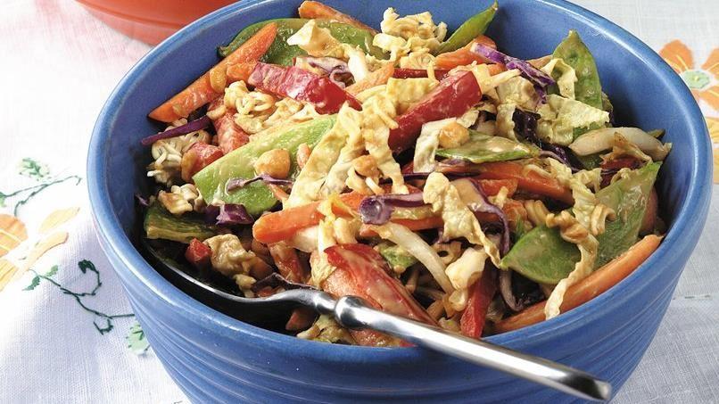 Peanut-Vegetable Salad