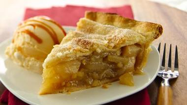 Spiced Gingered Pear Pie