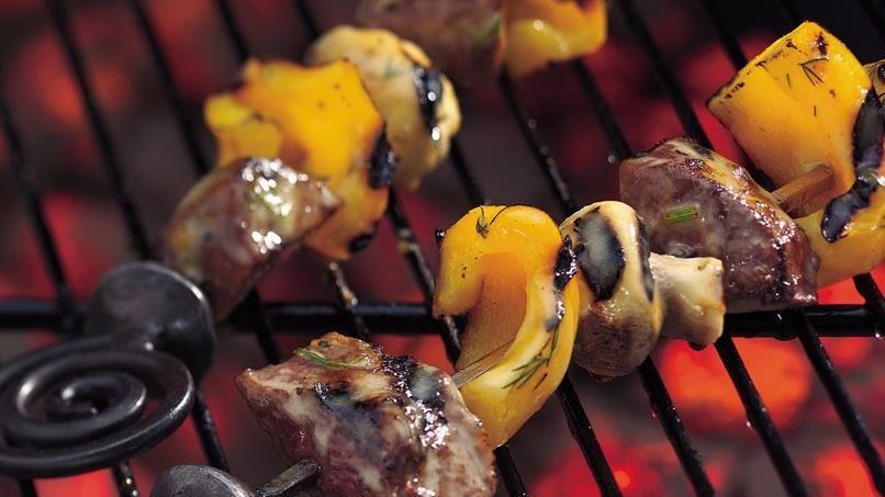 Easy Grilled Steak Kabobs