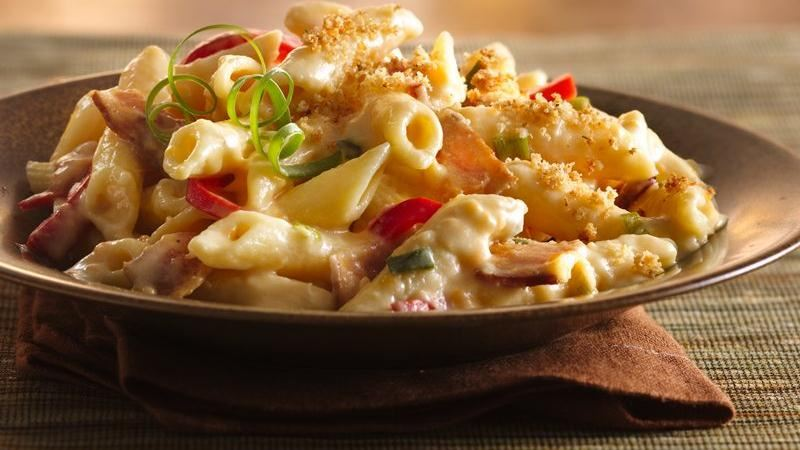 Bacon-Pepper Mac and Cheese