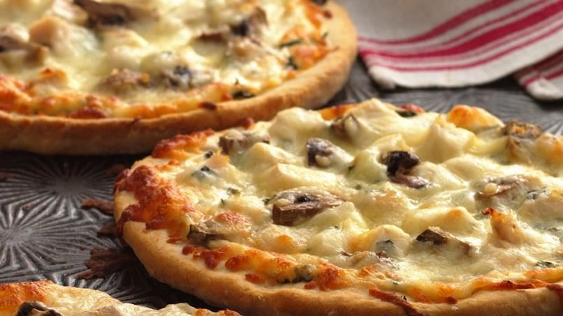 Mini White Pizzas