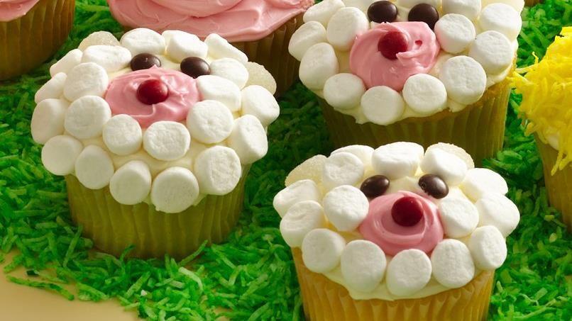 Lamb Cupcakes