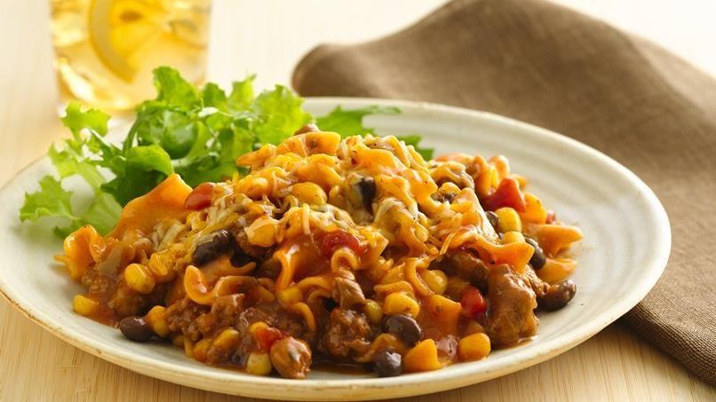 Mexican Lasagna Skillet