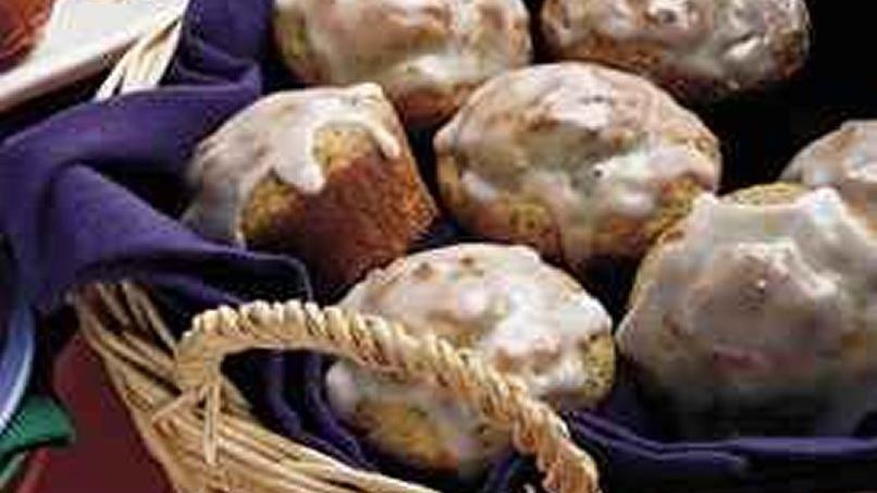 Lemon Yogurt-Poppy Seed Muffins (lighter recipe)