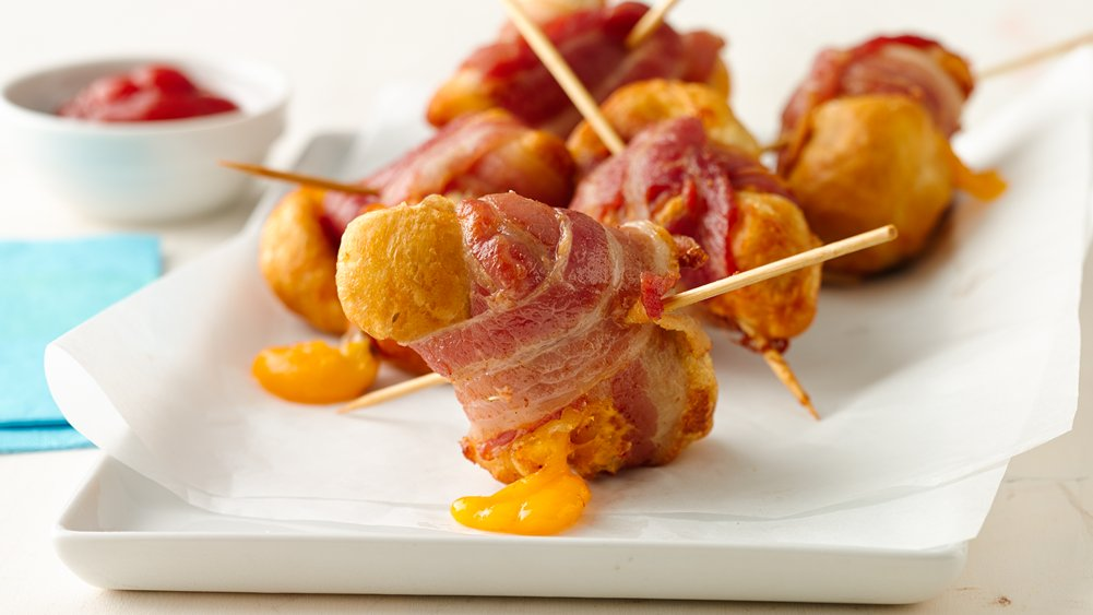 Bacon Cheeseburger Bombs