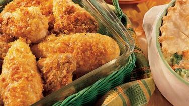 Crisp Oven-Fried Chicken