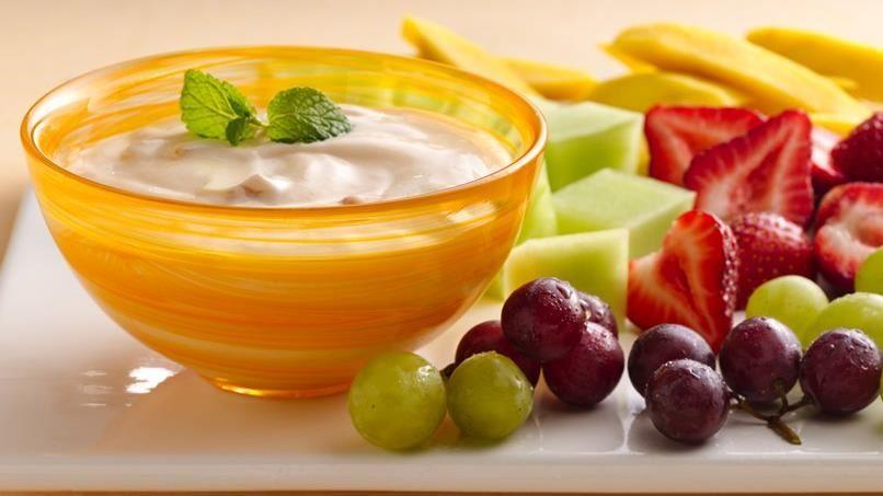 Apricot Mango Yogurt  Fruit Dip