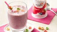 Fruit Burst and Cereal Smoothies