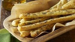 Gluten-Free Garlic Herb Breadsticks