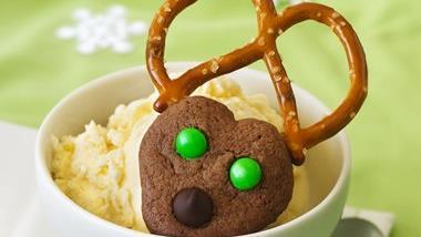 Chocolate Spritz Reindeer