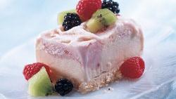Marbled Yogurt Dessert