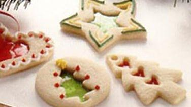 Easy Stained Glass Holiday Cookies
