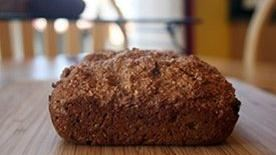 Bran Date Quick Bread
