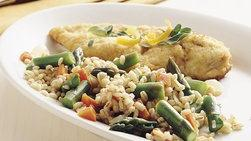Pollo al Parmesano y Mostaza