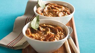 West African Peanut Chicken Stew