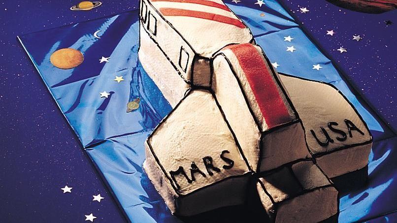 Spaceship Cake