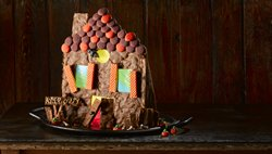 Haunted Gingerbread House