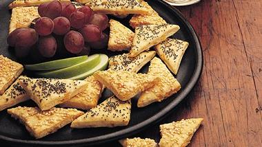 Beer-Cheese Triangles