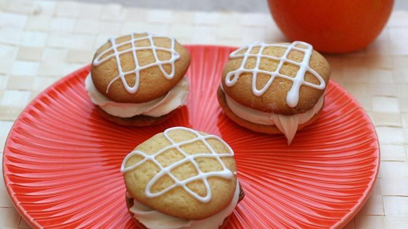 Creamy Orange Whoopie Pies