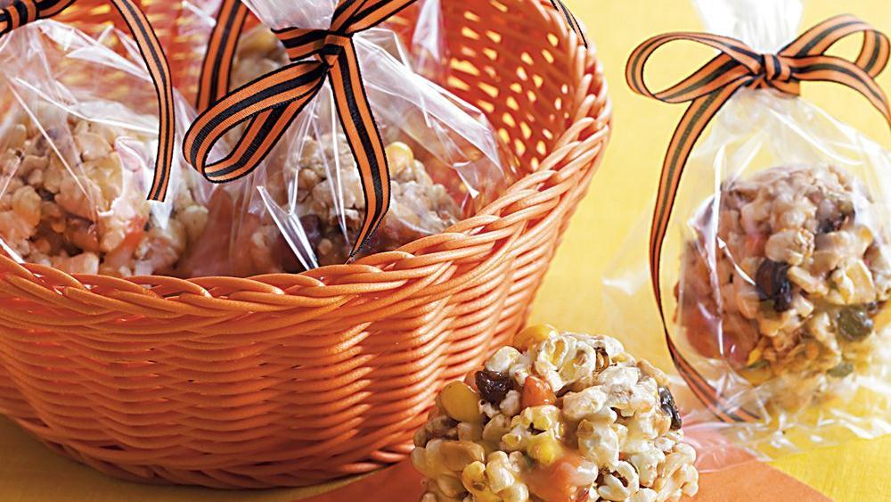 Kitchen Sink Popcorn Balls