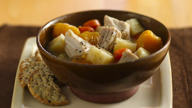 Slow-Cooker Hearty Pork Stew
