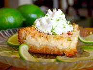Key Lime-Cream Cheese Crumble Cake