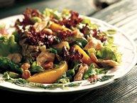 Peach and Peanut Chicken Salad