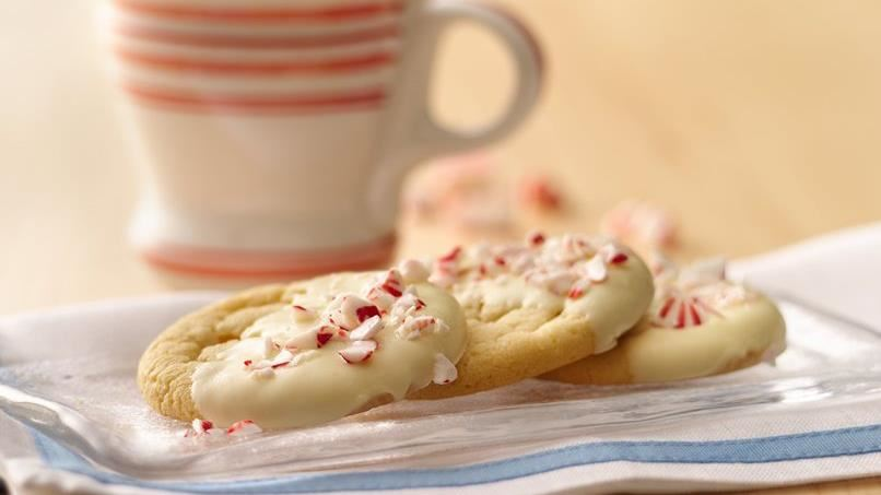 Peppermint Crunch Sugar Cookies