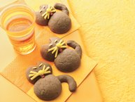 Scary Cat Cookies