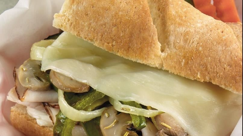 Turkey Philly Loaf