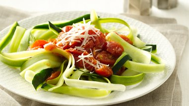 Gluten-Free Zucchini Noodles with Marinara