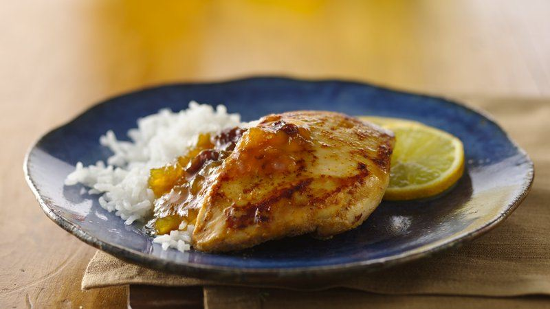 Indian Spiced Chicken and Chutney