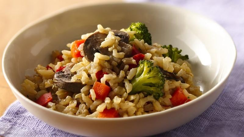 Slow-Cooker Confetti Brown Rice